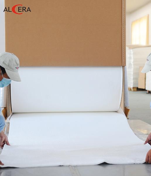耐火陶瓷纤维毯