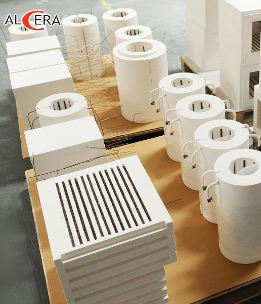 陶瓷纤维炉膛异型品类